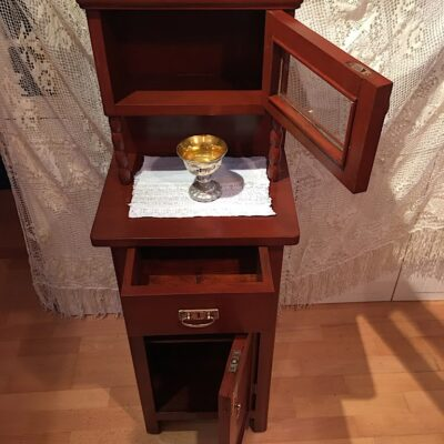 PRODÁNO Noční stolek s nástavcem